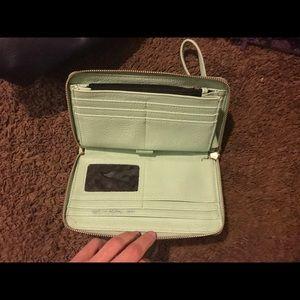 Mint Green Steve madden wallet